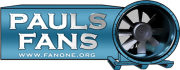 pauls fans new logo with medium web address