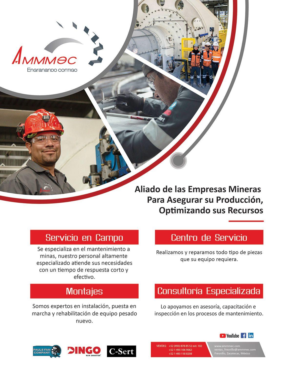 AMMMEC Aliado de las empresas mineras