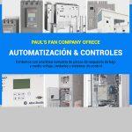 Pauls Fan Company ofrece automatización y controles